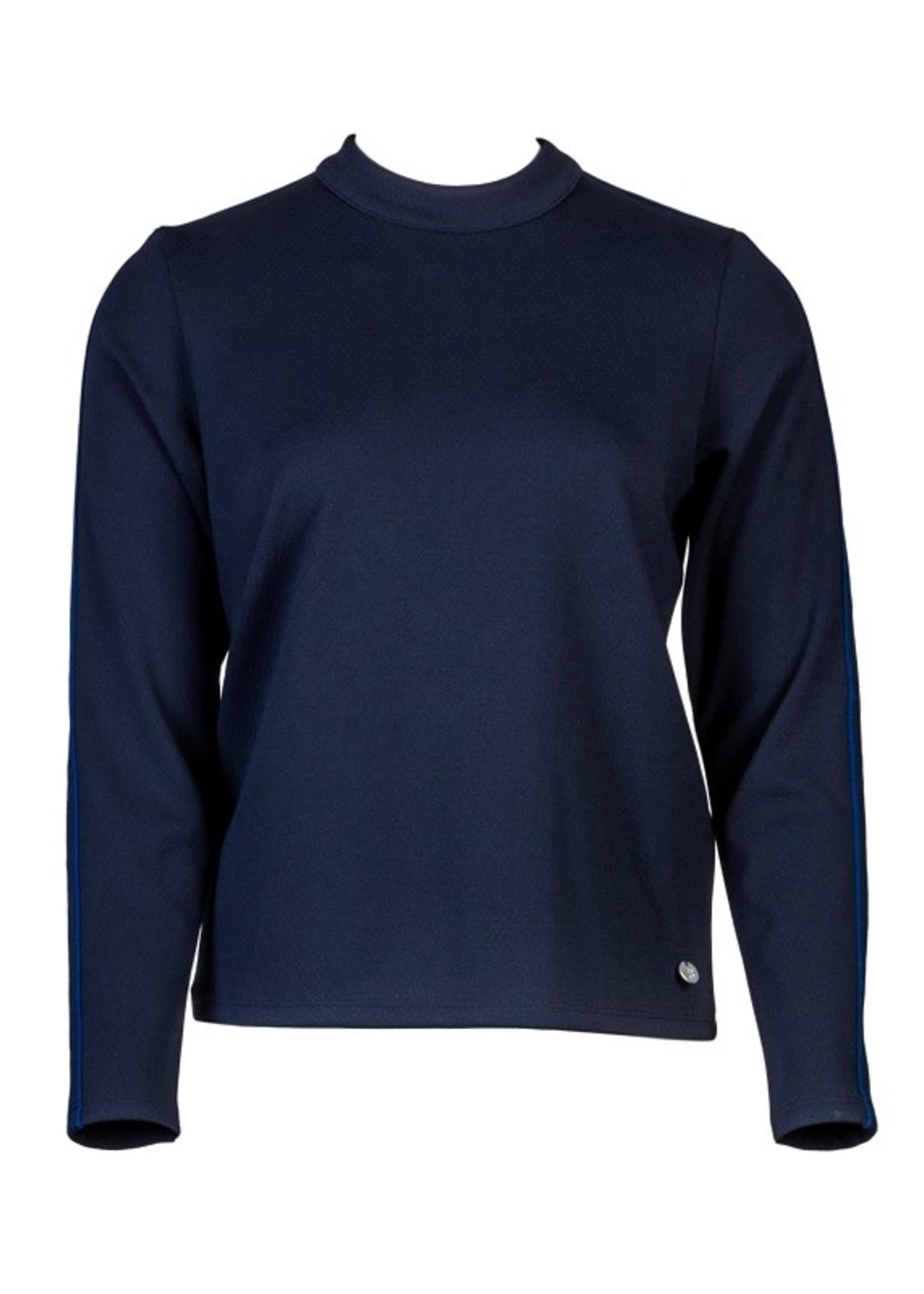 STAPELGOED Tonja navy shirt