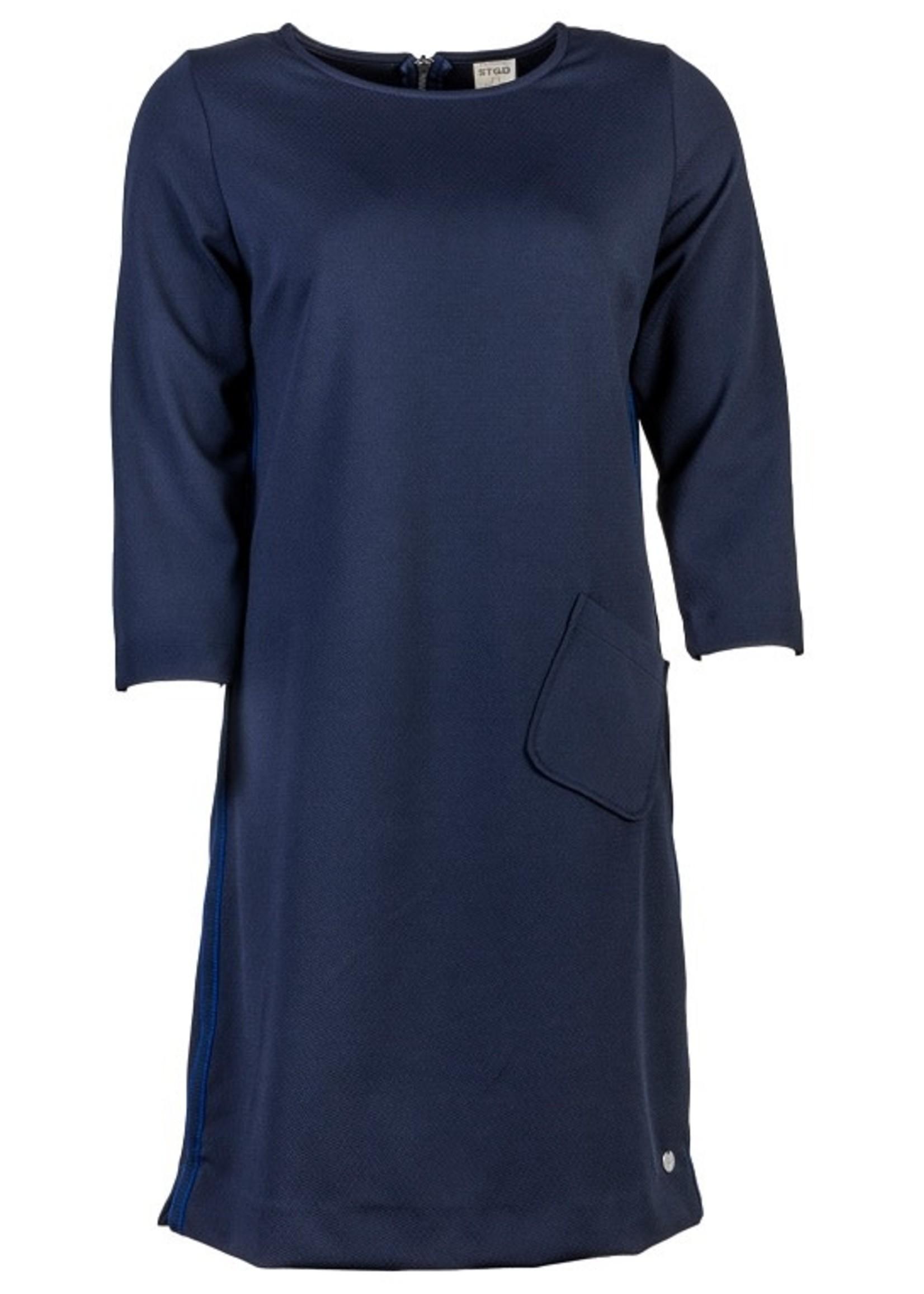 STAPELGOED Tessa jurk navy