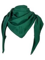 STAPELGOED driehoeksjaal groen