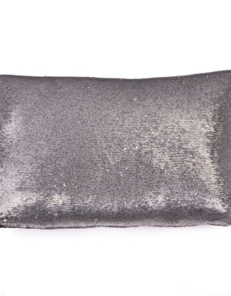 STAPELGOED kussen Paillet zilver 30x50cm