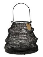 STAPELGOED L uitvouwbare lantaarn zwart