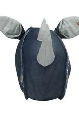 STAPELGOED Wallhead Rhino denim