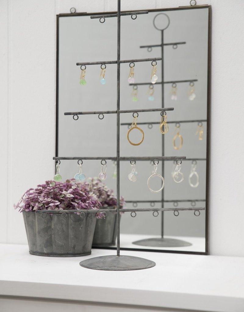 IB LAURSEN Metalen kerstboom voor 24 hangertjes