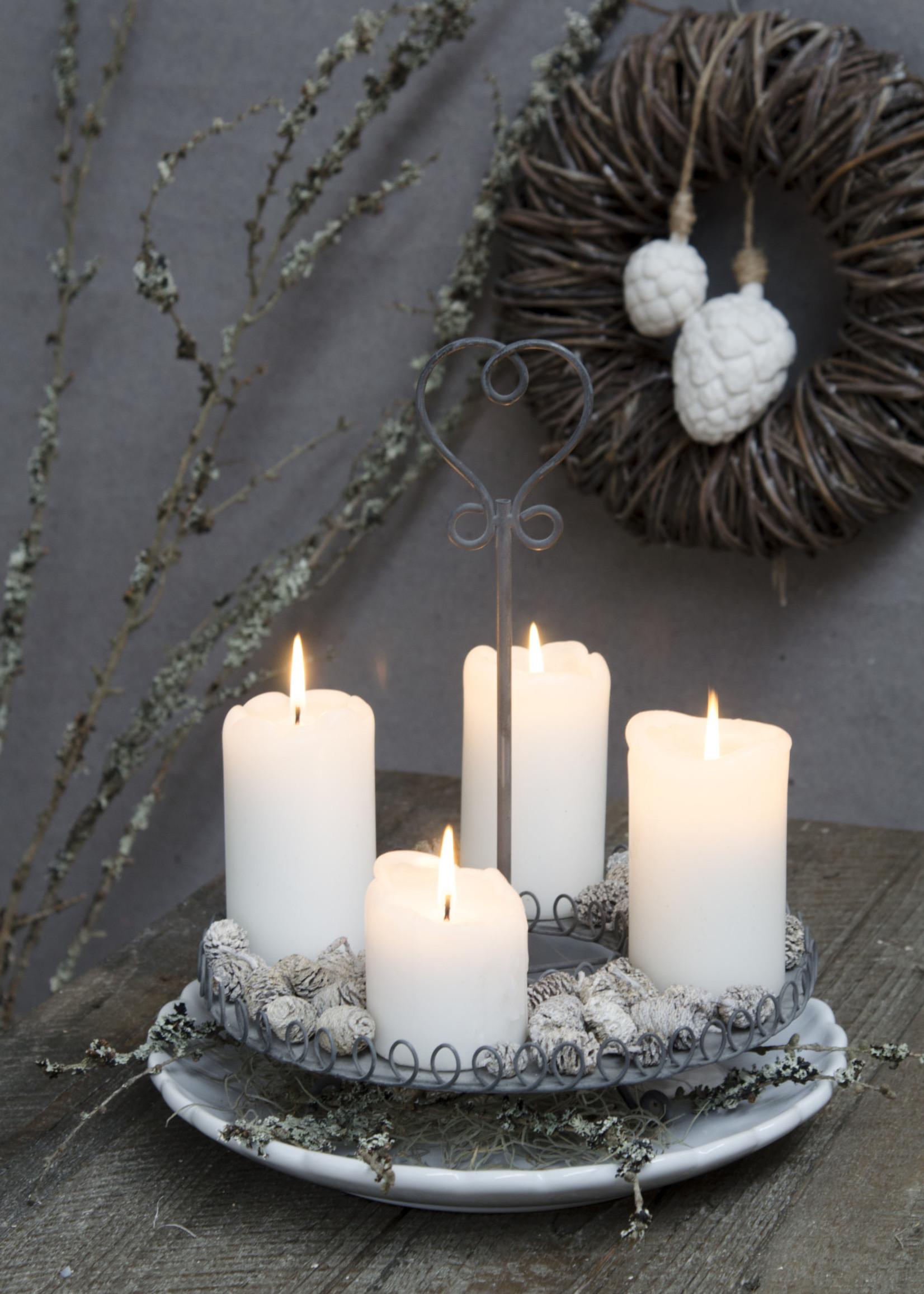 IB LAURSEN Kandelaar voor blok kaarsen