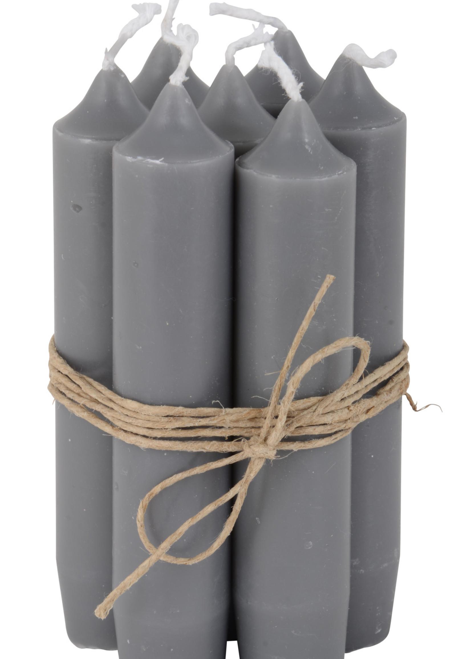 IB LAURSEN Korte kaarsen Dark grey 4171-16