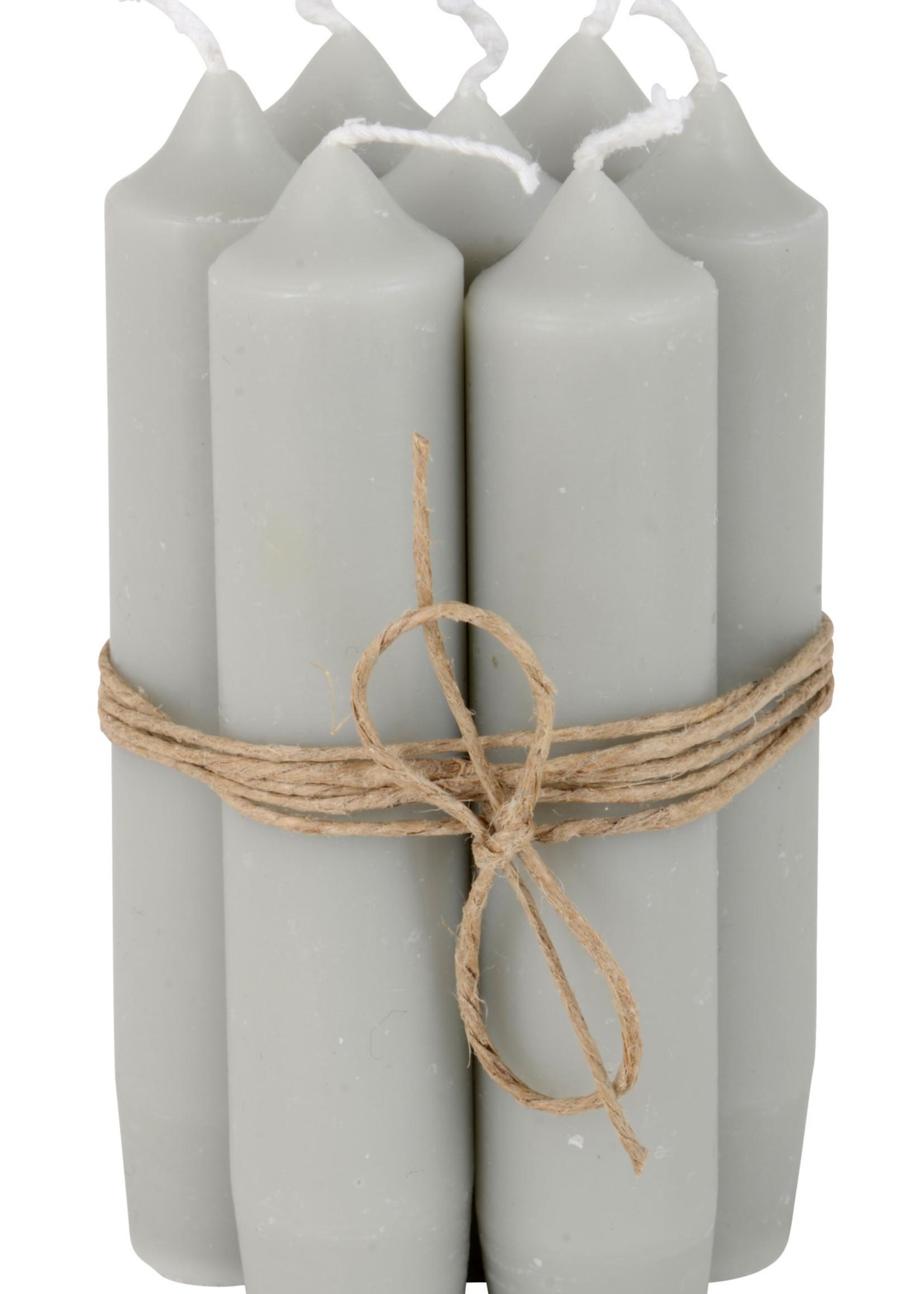 IB LAURSEN Korte kaarsen Grey 4171-18