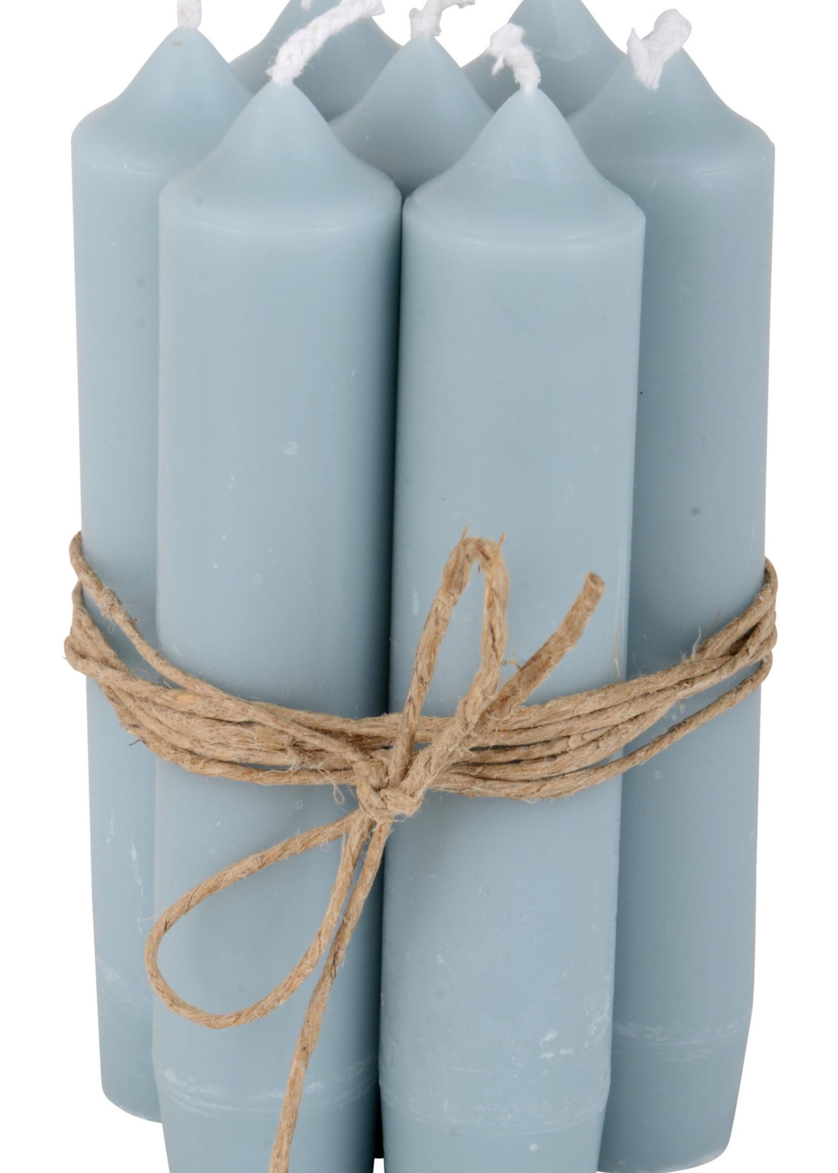 IB LAURSEN Korte kaarsen Light blue 4171-26
