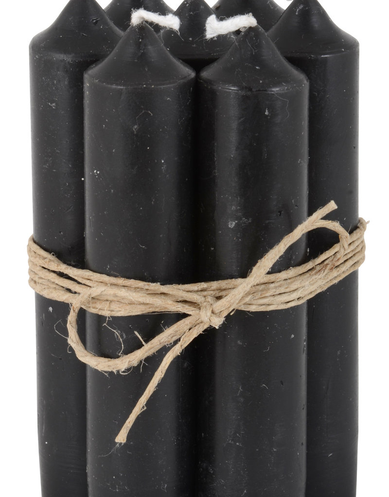IB LAURSEN Korte kaarsen Black 4171-24