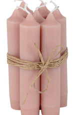 IB LAURSEN Korte kaarsen Dusty pink 4171-38