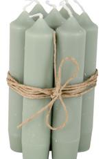 IB LAURSEN Korte kaarsen Dusty green 4171-81