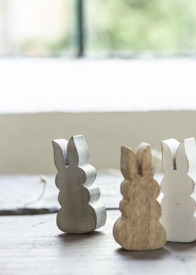 IB LAURSEN Rabbit 3 kleuren hout