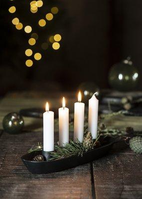 IB LAURSEN Candle holder  zwart
