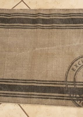 IB LAURSEN rug w/stripes and stamp