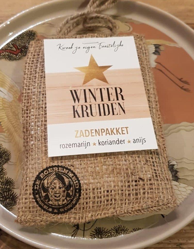 Winterkruiden in een mooi jasje