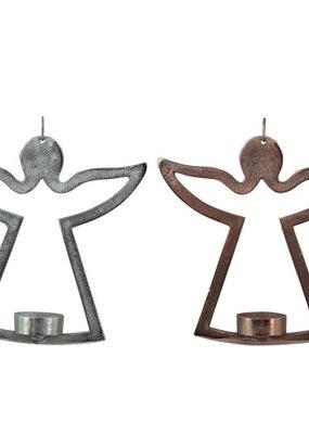 Engel metaal zilver/koper