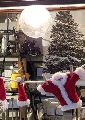 kerstslinger met kleertjes