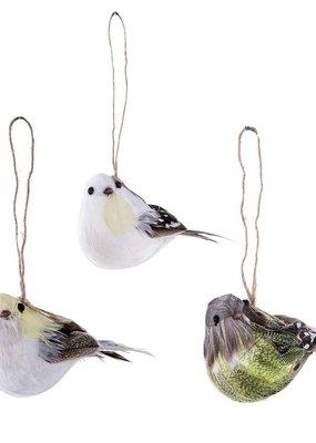 Vogeltjes met echte veertjes