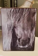 Vintage & More Nostalgisch fotobordje paard