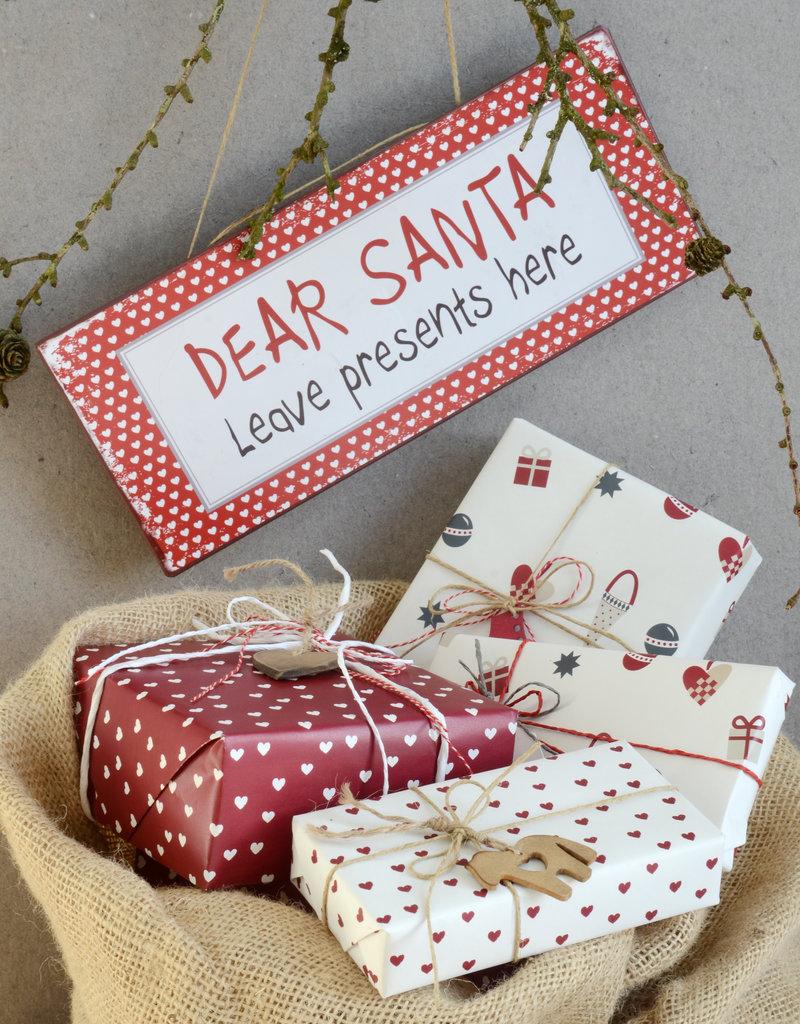 IB LAURSEN Sign Dear Santa