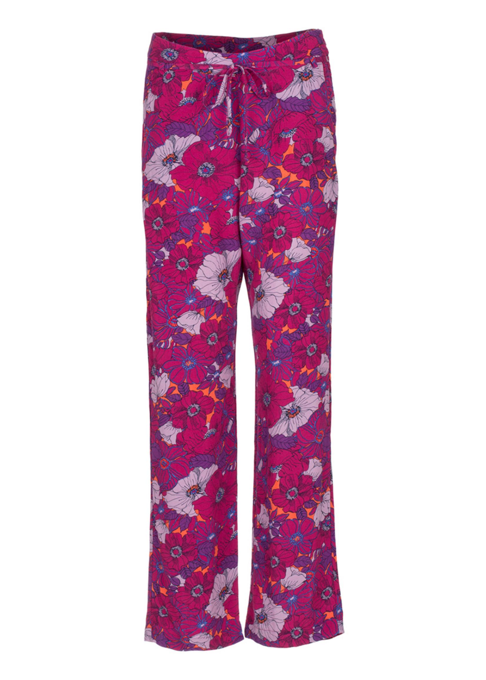 LEPEP Lepep Trouser Alanis Sangria Flower