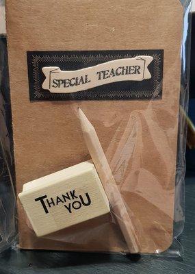 Opschrijfboekje voor je Special Teacher
