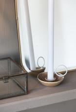 IB LAURSEN Candle holder bruin voor lange smalle kaars