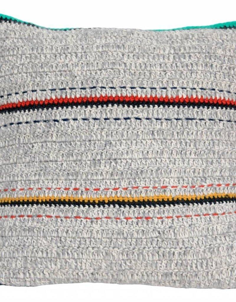 STOREBROR Wollen kussen Stripes
