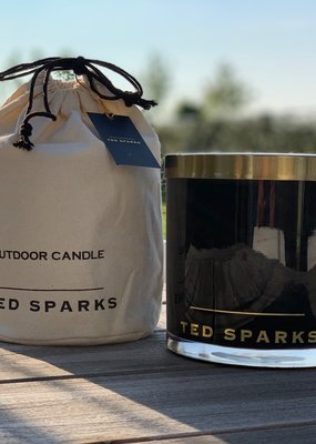 TED SPARKS Outdoor candle