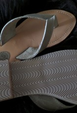 XWORKS Leren slippers XWORKS grijs