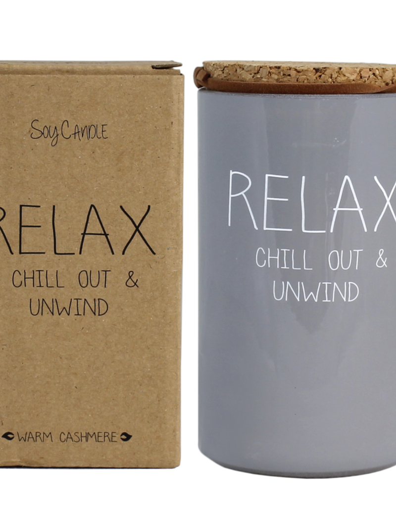 MY FLAME SOJAKAARS - RELAX CHILL OUT AND UNWIND GEUR: AMBER'S SECRET