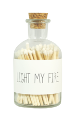 MY FLAME LUCIFERS - WIT - LIGHT MY FIRE
