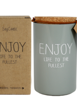 MY FLAME SOJAKAARS - ENJOY LIFE TO THE FULLEST - GEUR: MINTY BAMBOO