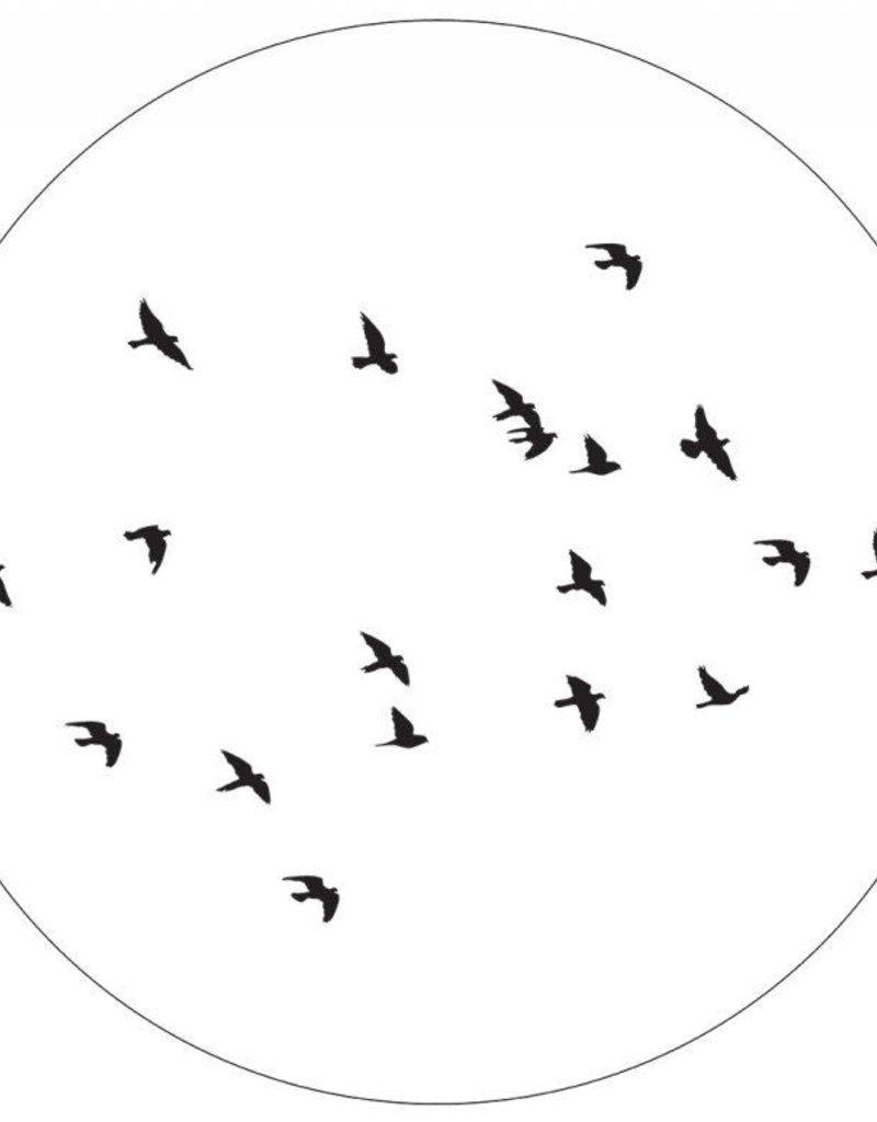 Muurcirkel Birds 60cm