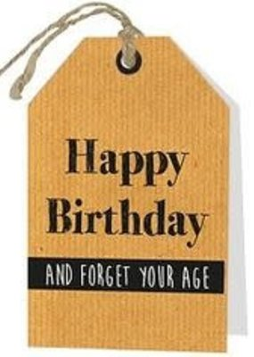 PAPERART wenskaart Happy Birthday ....