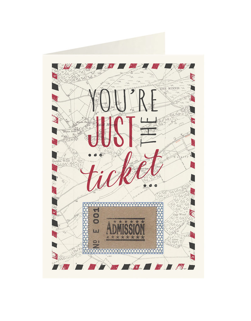 Youre just the ticket
