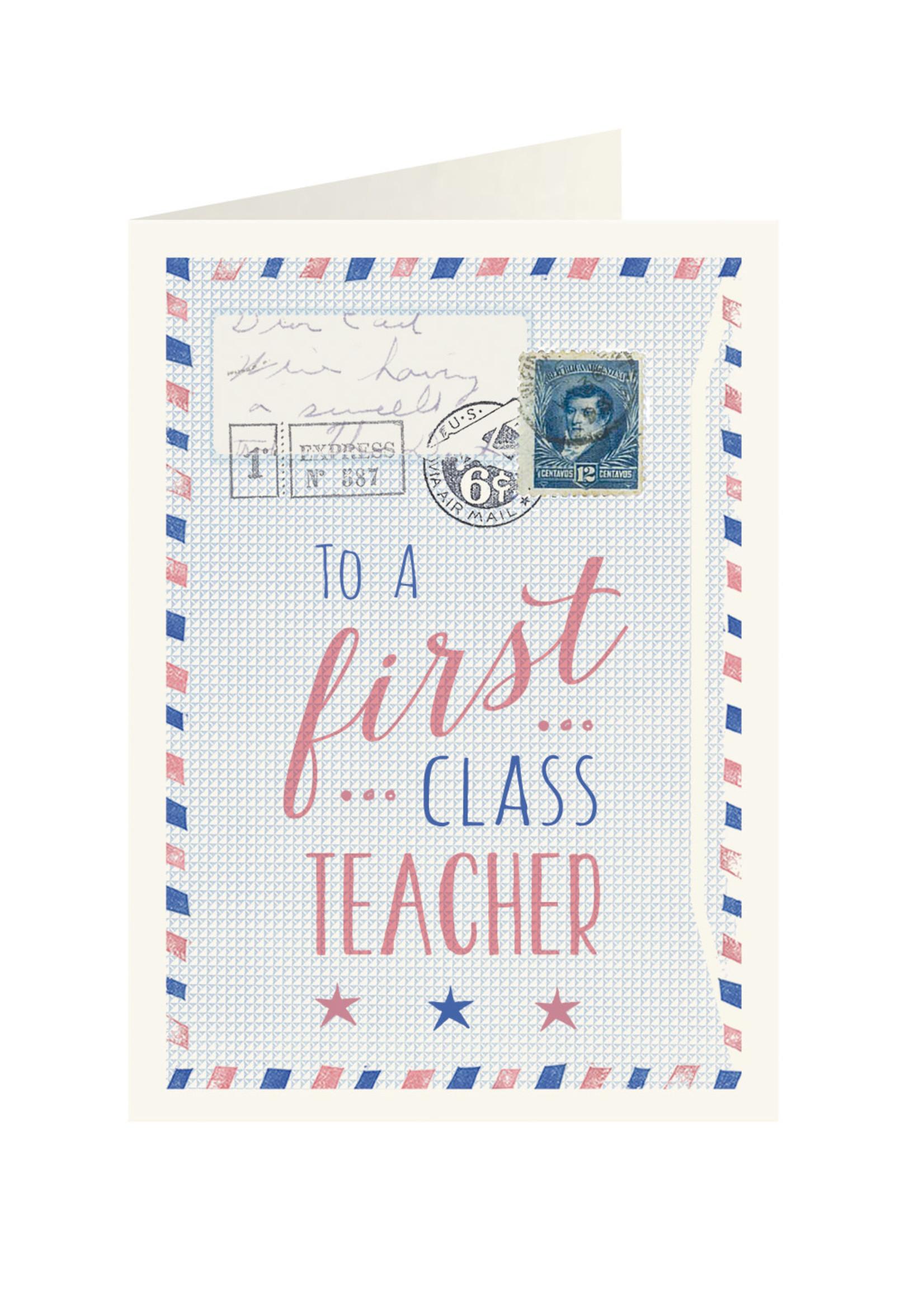 To first class Teacher