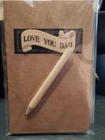 Opschrijfboekje voor je liefste vader