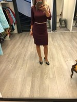 LEPEP dress Felicity port Maat L