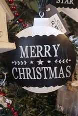Stoer en warm deze kerstornament in Bal Boom Ster