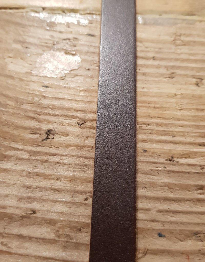 VAN BUREN leren riem bruin