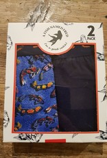 A Fish Named Fred 2 pack boxers art fishes