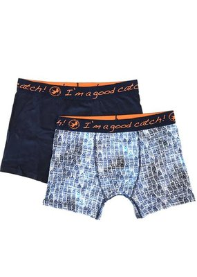 A Fish Named Fred 2 pack boxers canal houses