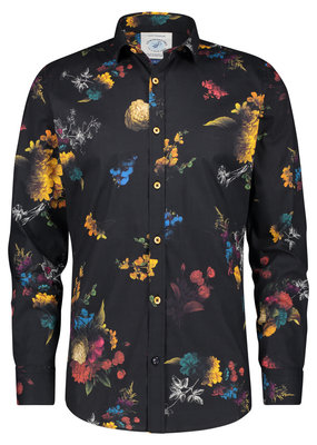 A Fish Named Fred Shirt Flower painting