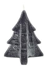 tree candle zwart