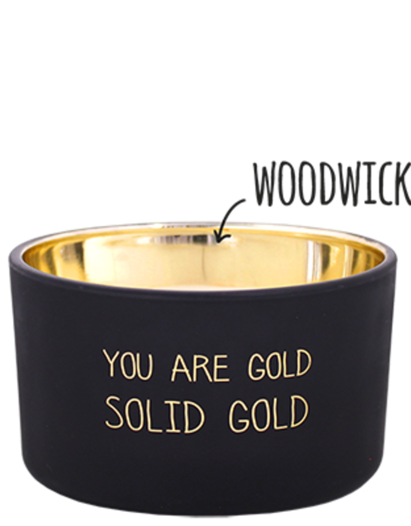 MY FLAME SOJAKAARS - YOU ARE GOLD - GEUR: WARM CASHMERE
