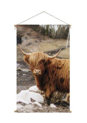 Textielposter Highlander XL 60x90cm