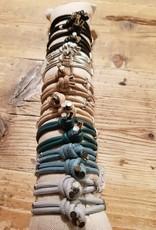 armband nappa leder in div kleuren