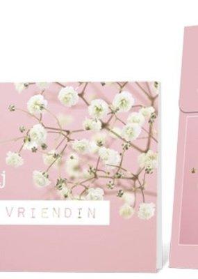 FLOWERCARDS Geurwenskaart Zo superblij met een vriendin...