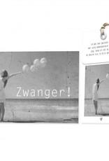 FLOWERCARDS Geurwenskaart Zwanger