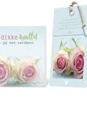 FLOWERCARDS Geurwenskaart Een dikke knuffel